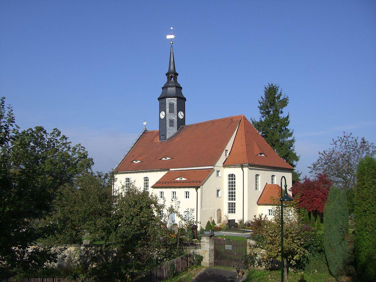 Bild Kirche St. Annen Niederschöna