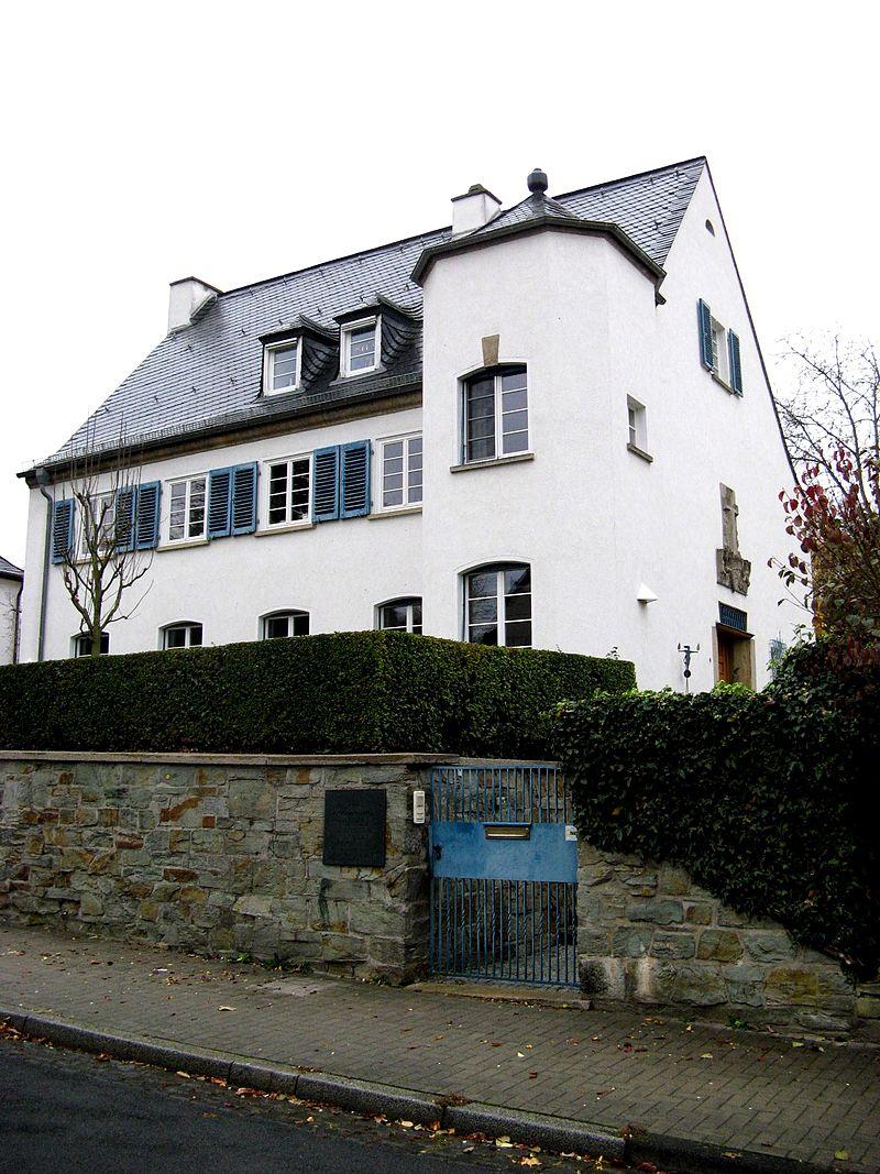 Bild Niemöllers Wohnhaus Wiesbaden