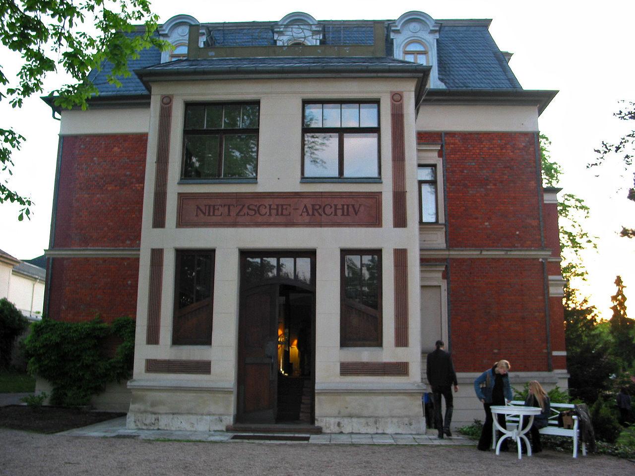 Bild Nietzsche Archiv Weimar