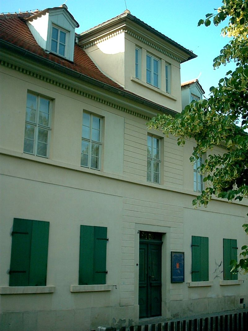 Bild Nietzsche Haus Naumburg
