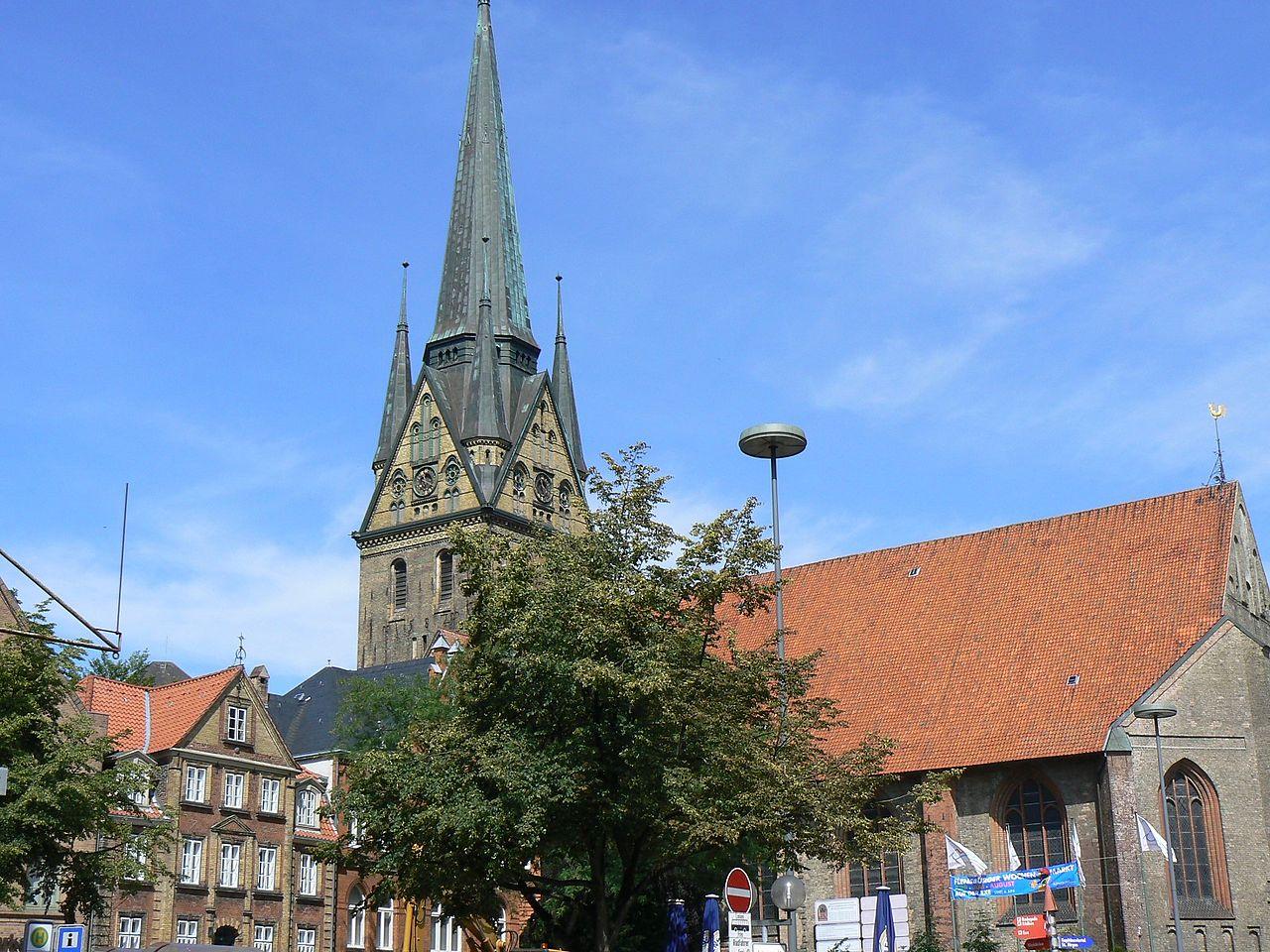 Bild St. Nikolai Kirche Flensburg