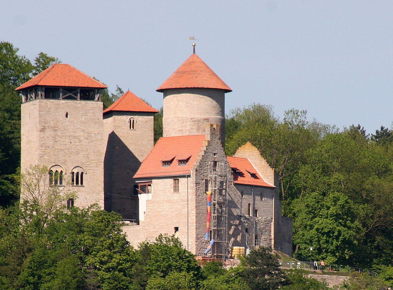 Bild Burg Normannstein Treffurt