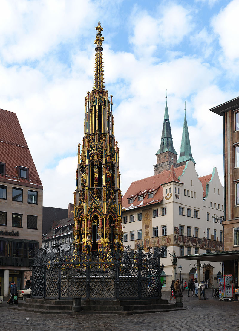 Bild Schöner Brunnen Nürnberg