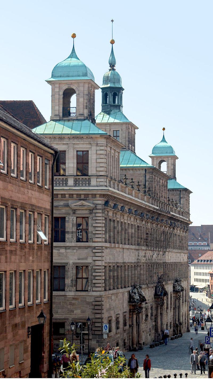 Bild Rathaus Nürnberg