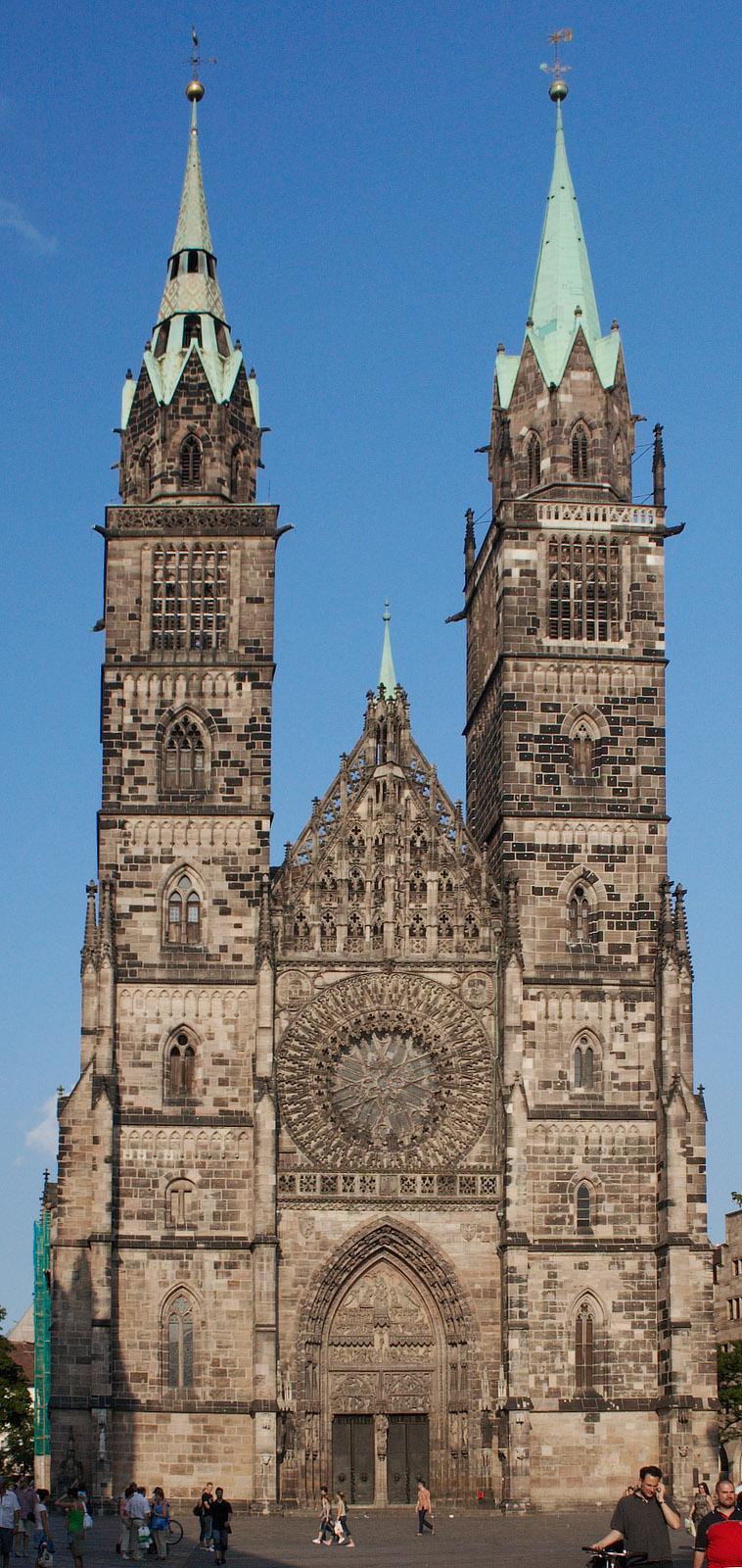 Bild Kirche St. Lorenz Nürnberg