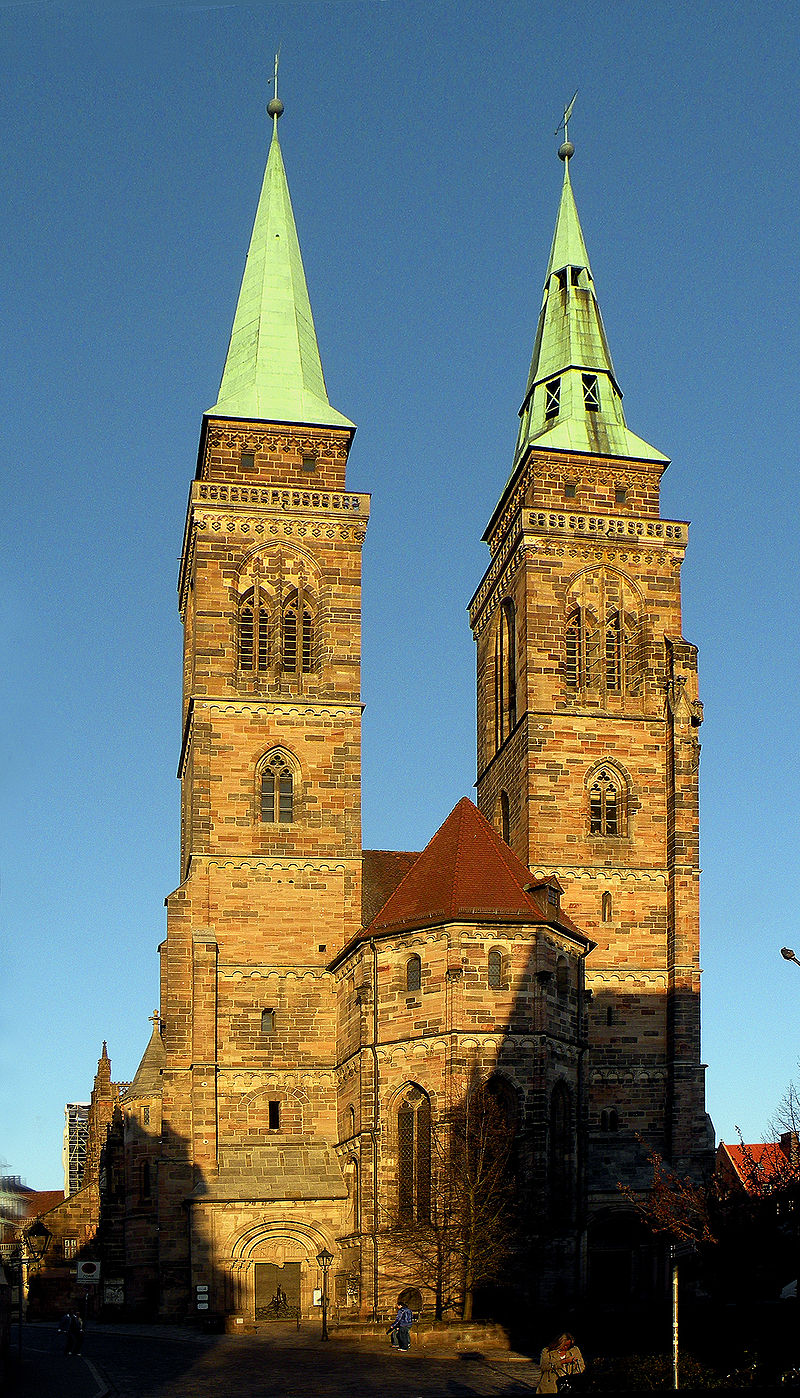 Bild Sebalduskirche Nürnberg