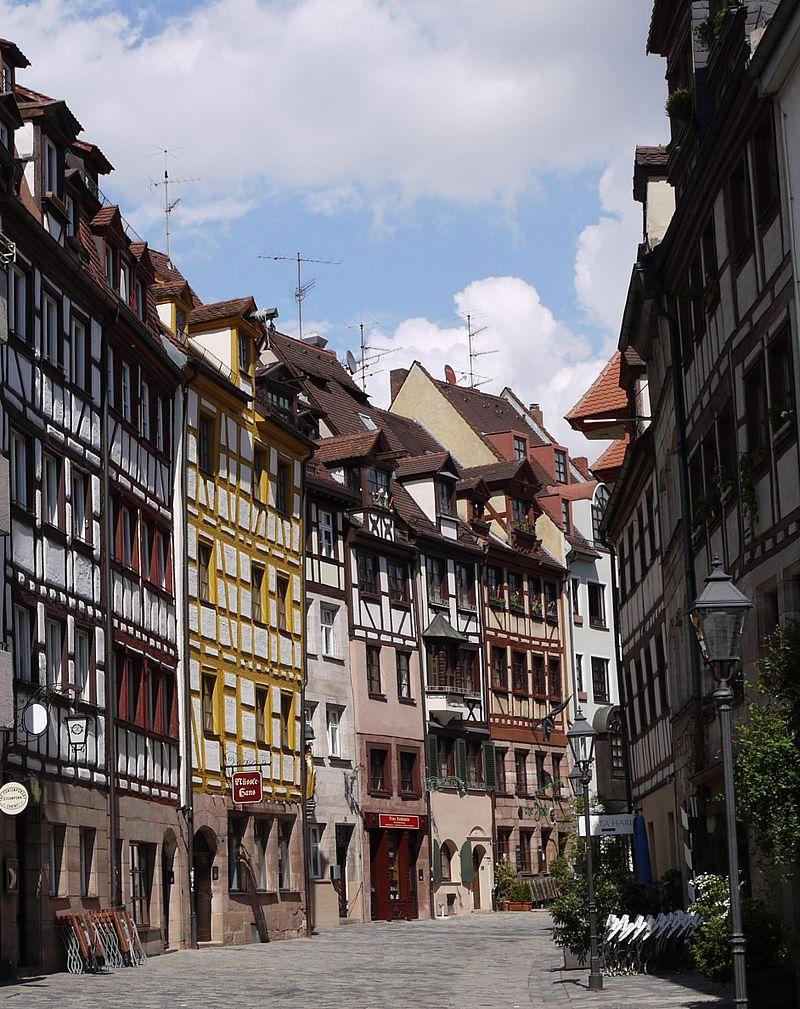 Bild Weißgerbergasse Nürnberg