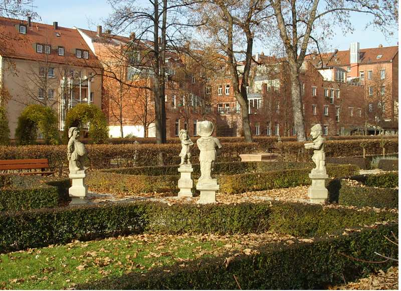 Bild Hesperidengärten Nürnberg