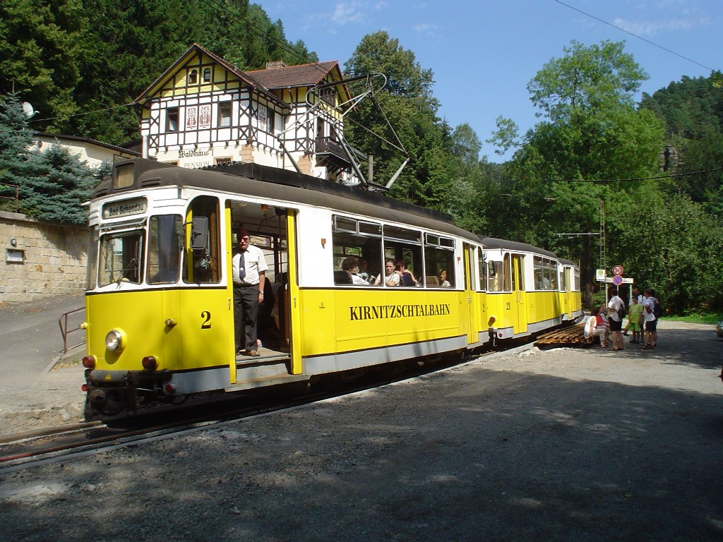 Bild Kirnitzschtalbahn Bad Schandau