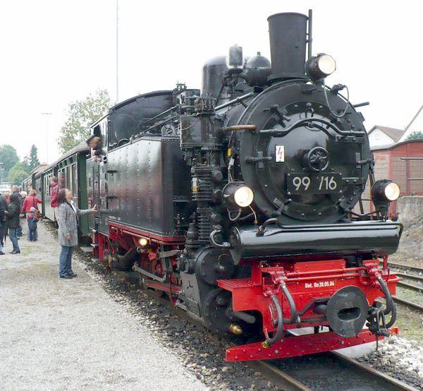 Bild Öchsle Schmalspurbahn Ochsenhausen
