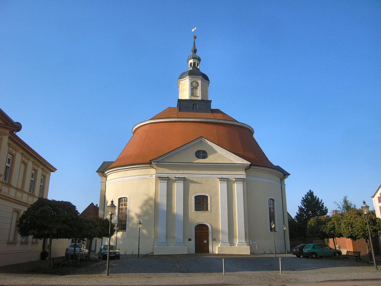 Bild Stadtkirche Oranienbaum