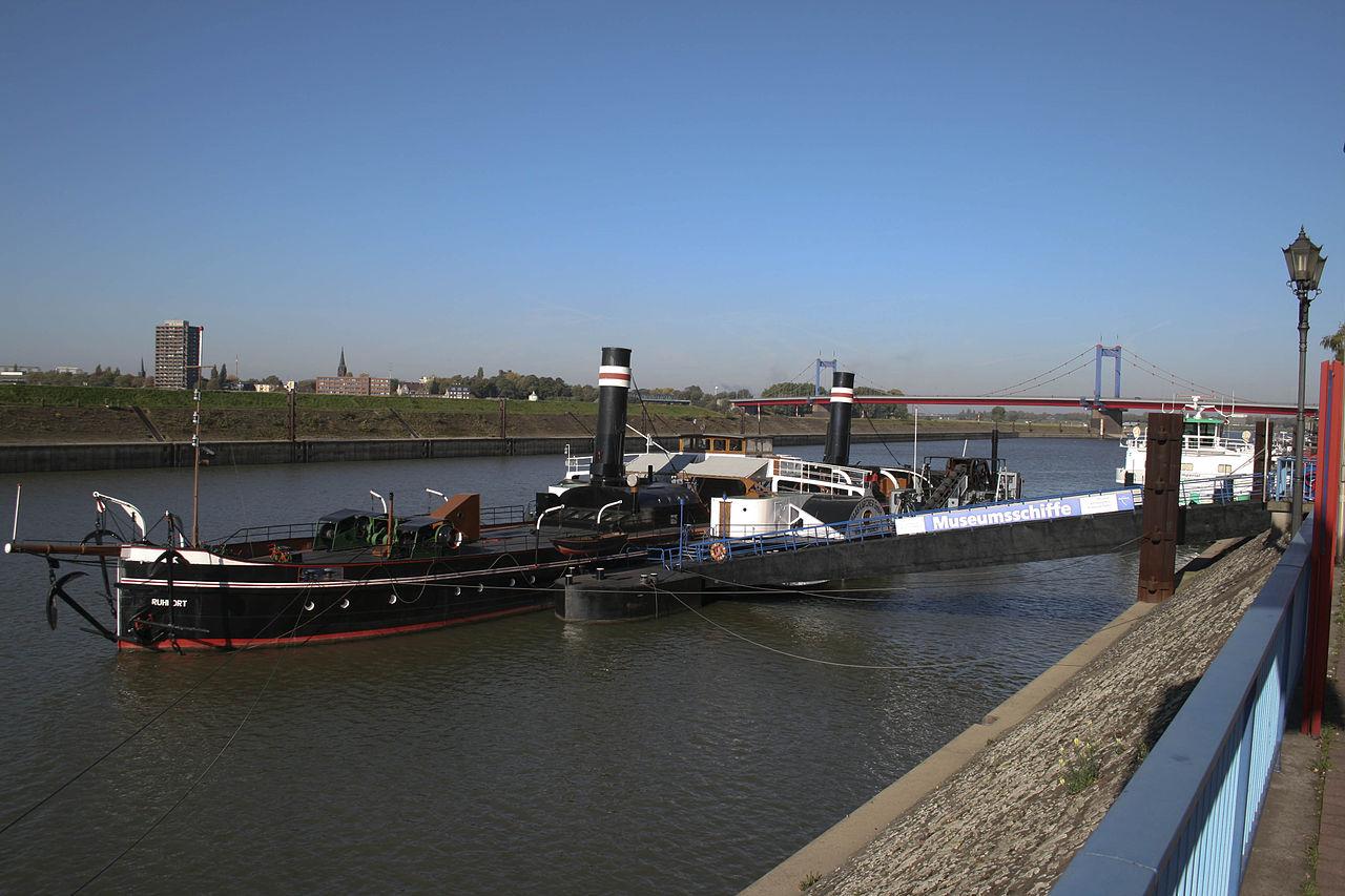 Bild Museumsschiff Oscar Huber Duisburg