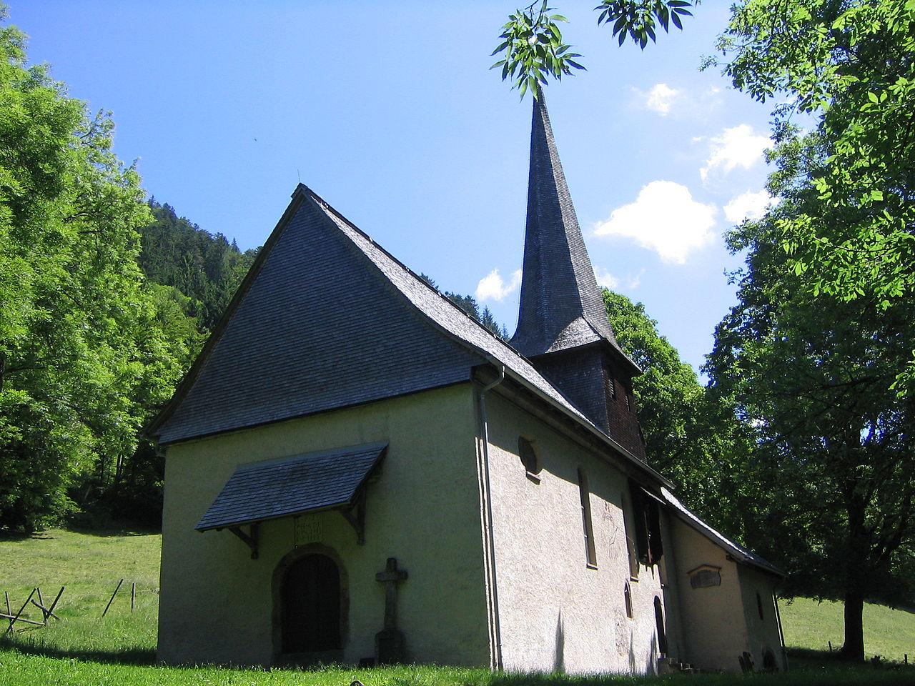 Bild Sankt Oswald Kapelle Breitnau