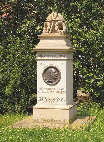 Bild Palitzsch Denkmal Dresden Prohlis
