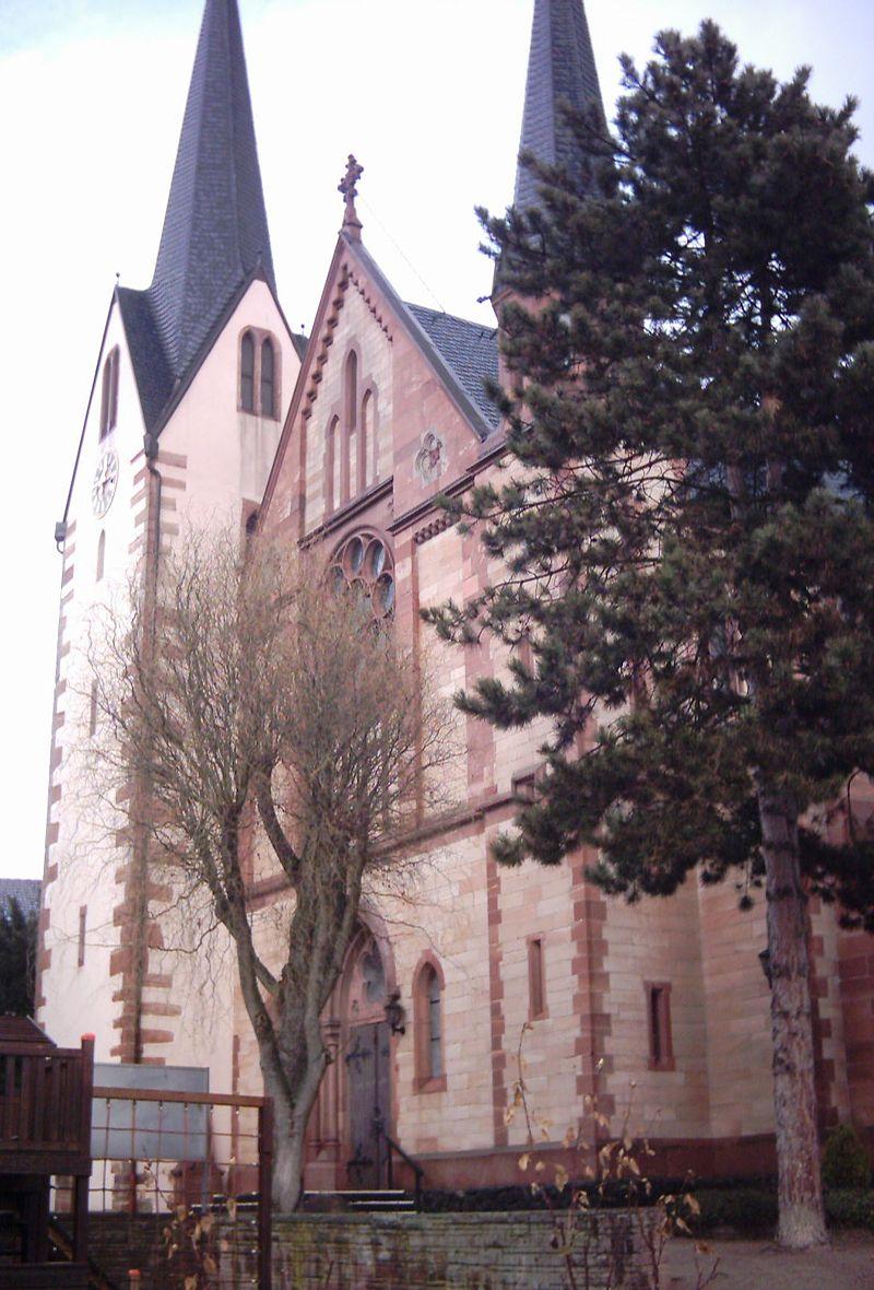 Bild Kirche St. Pankratius Offenbach am Main