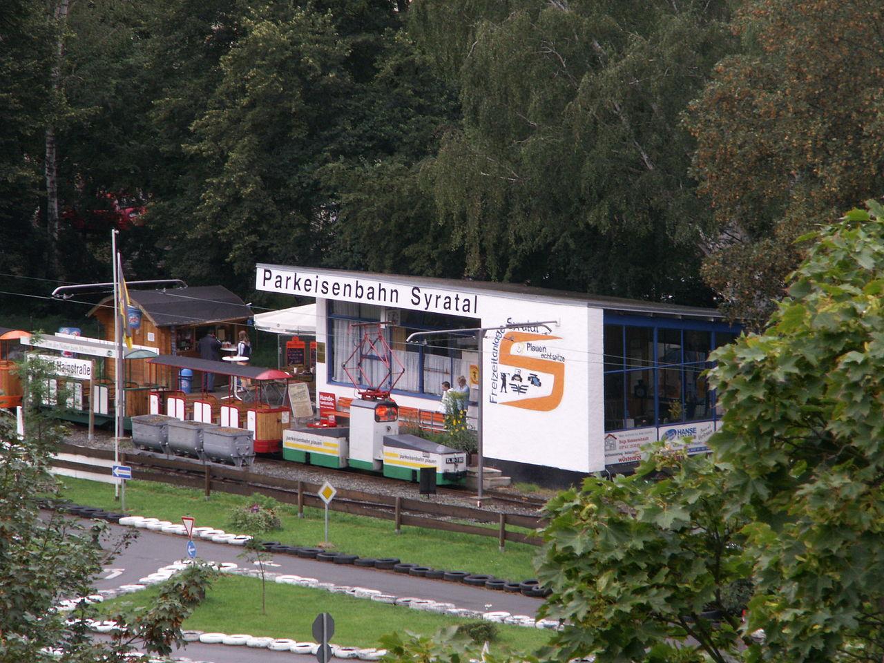Bild Parkeisenbahn Plauen Syratal