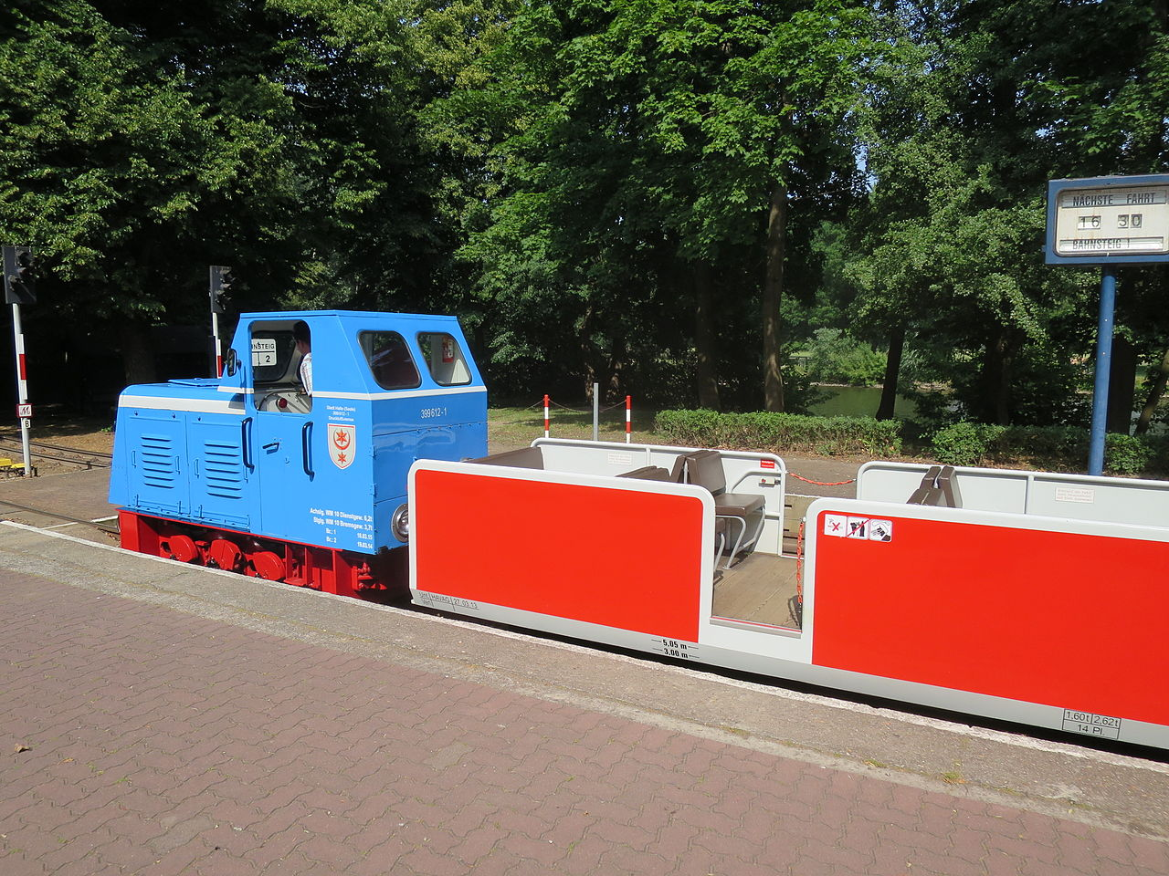 Bild Parkeisenbahn Peißnitz Express