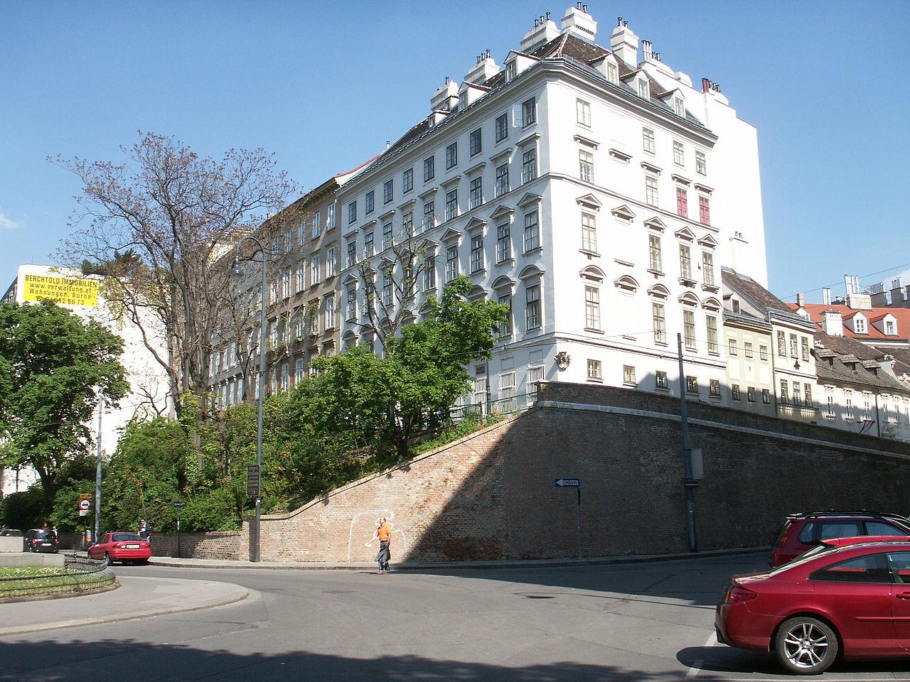 Bild Beethoven Pasqualatihaus Wien