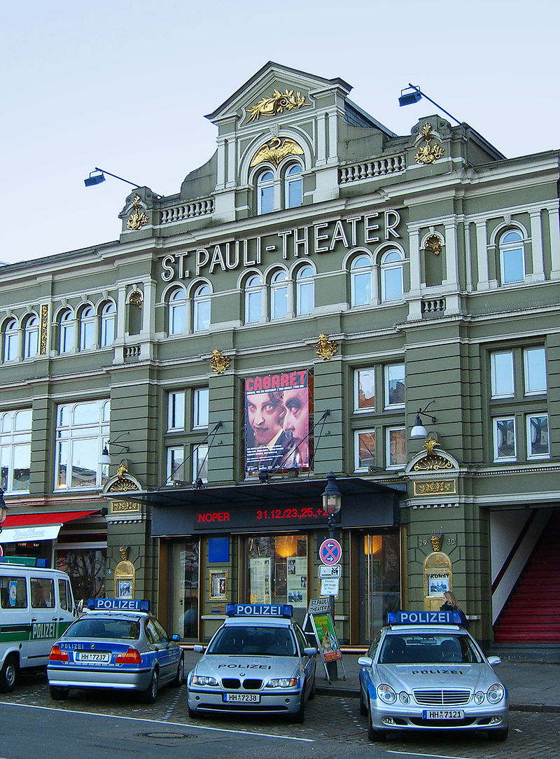 Bild St. Pauli Theater Hamburg