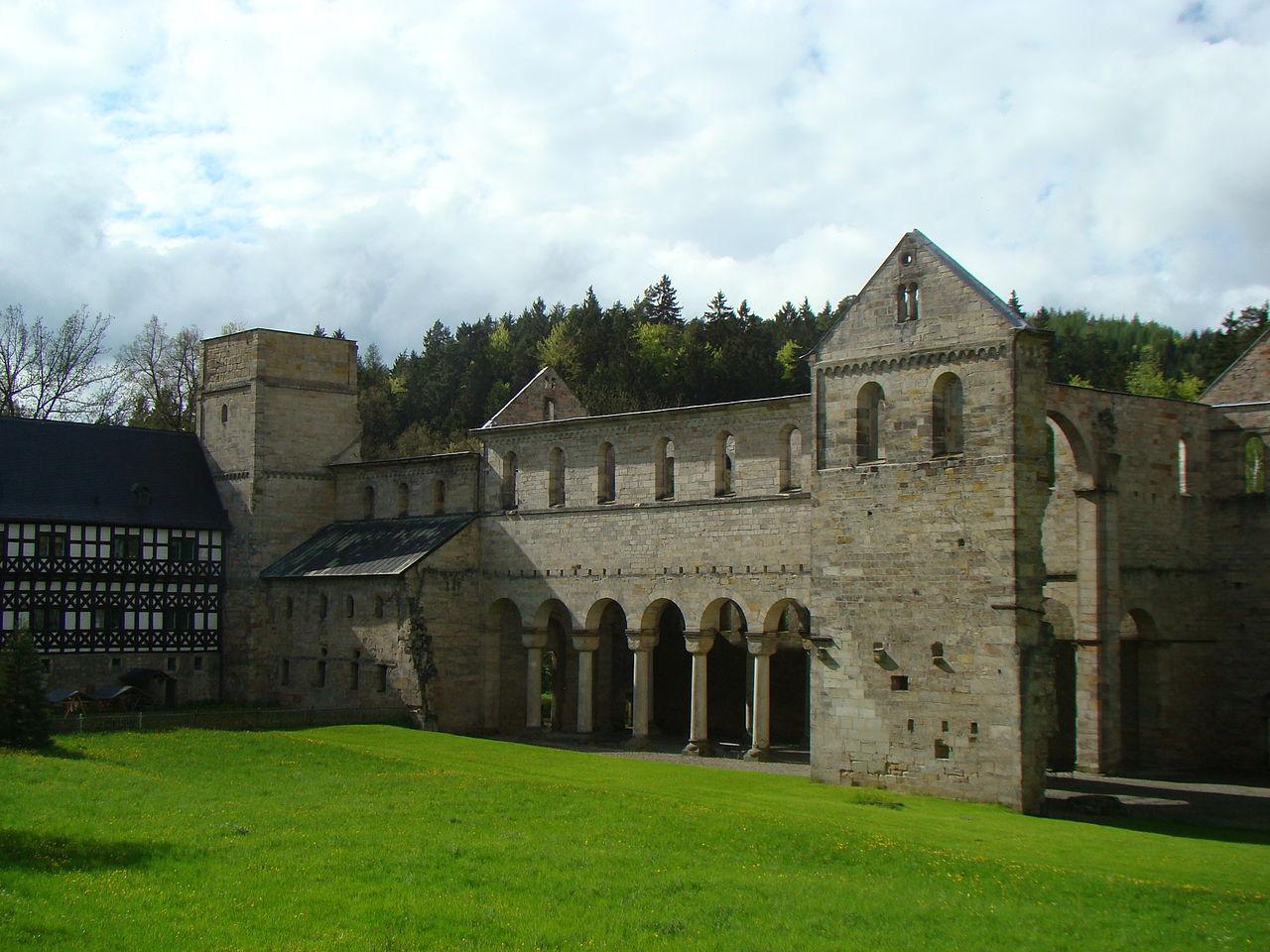 Bild Klosterruine Paulinzella