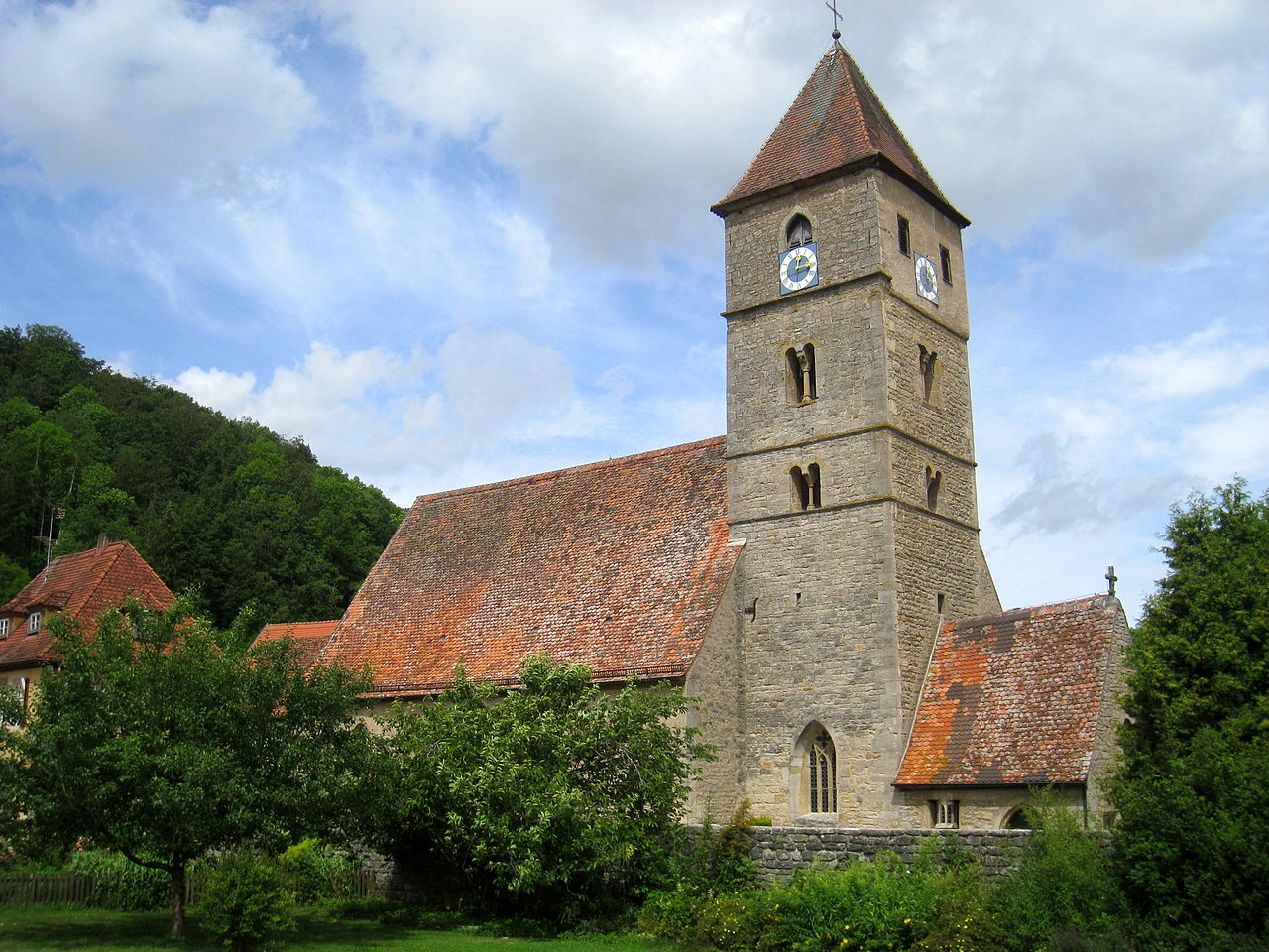 Bild Kirche St. Peter und Paul Detwang
