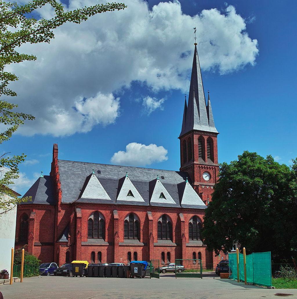 Bild Petruskirche Halle Kröllwitz
