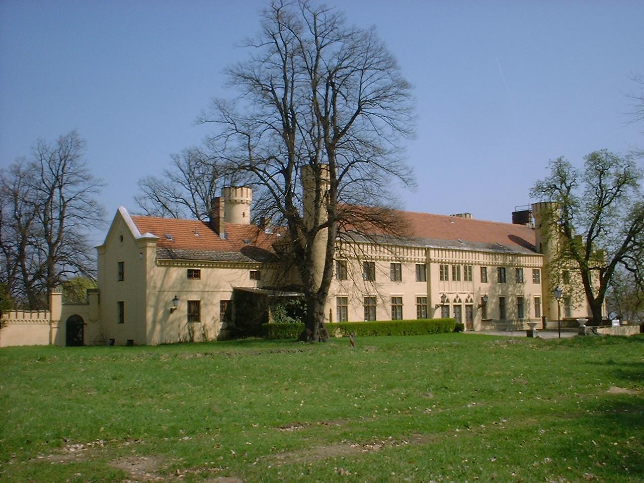 Bild Schloss Petzow