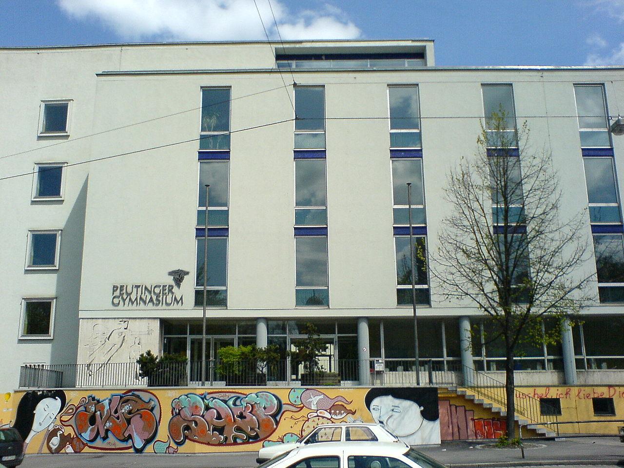Bild Peutinger Gymnasium Augsburg