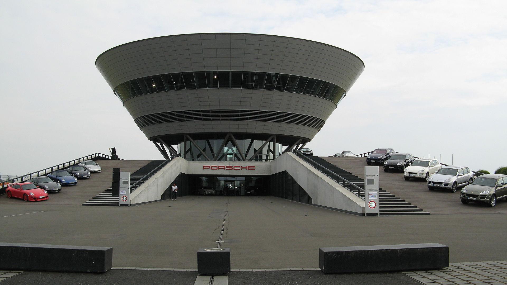 Bild Porsche Werk Leipzig