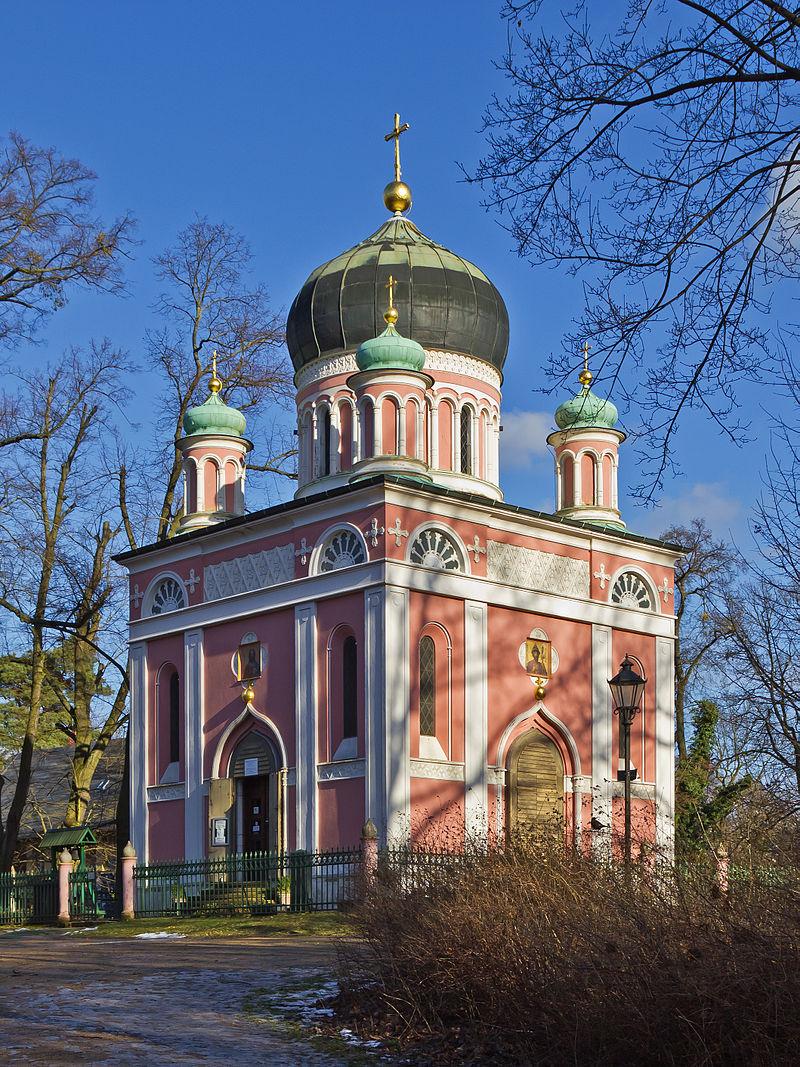 Bild Alexander Newski Gedächtniskirche Potsdam