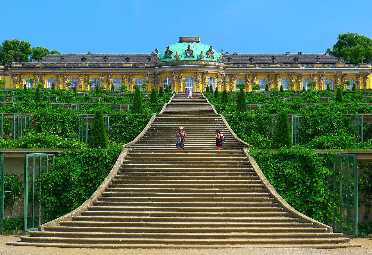 Bild Schloss und Park Sanssouci Potsdam