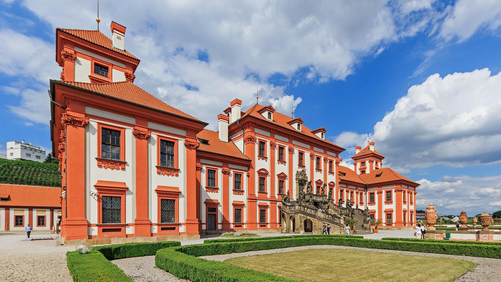 Bild Schloss Troja Prag