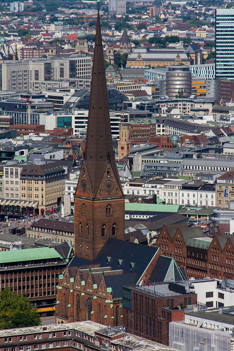 Bild St. Petri Kirche Hamburg