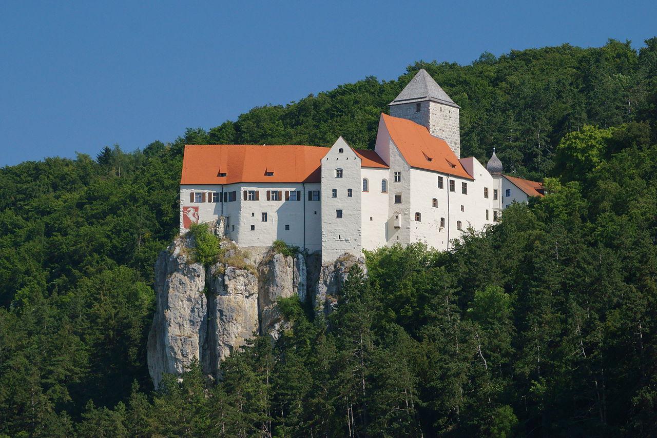 Bild Schloss Prunn Riedenburg