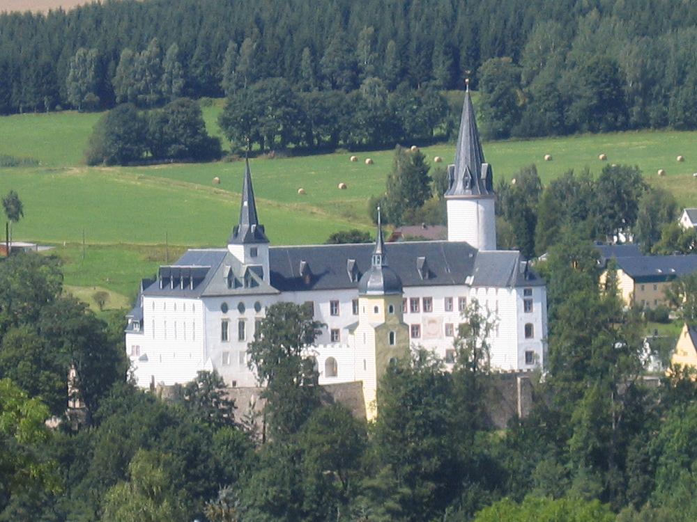 Bild Schloss Purschenstein Neuhausen