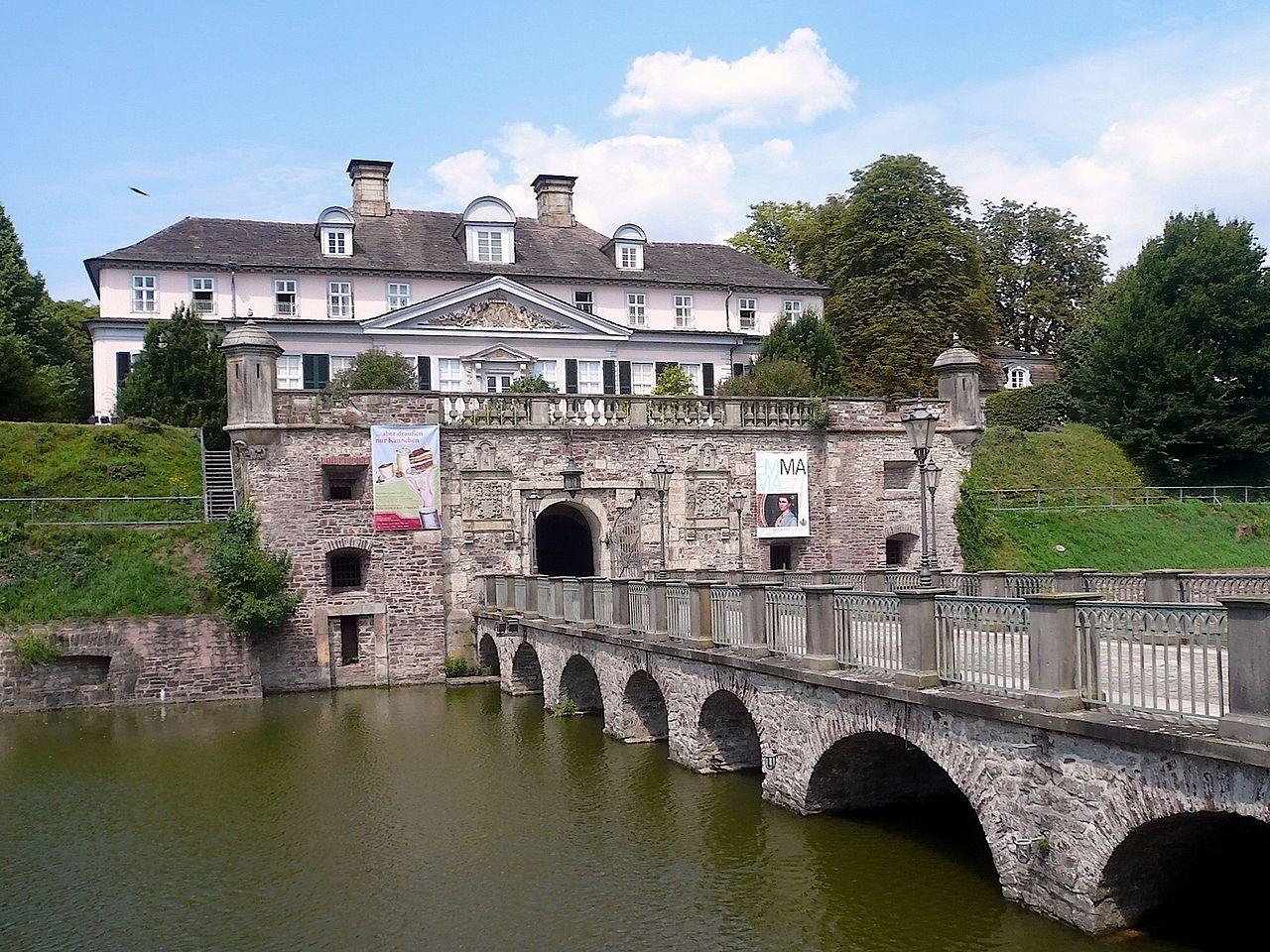 Bild Schloss Pyrmont