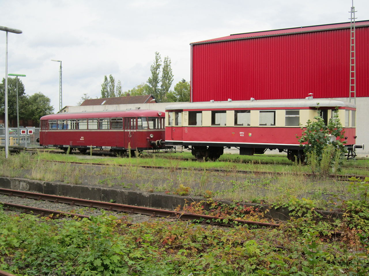 Bild Museumsbahn Rahden Uchte