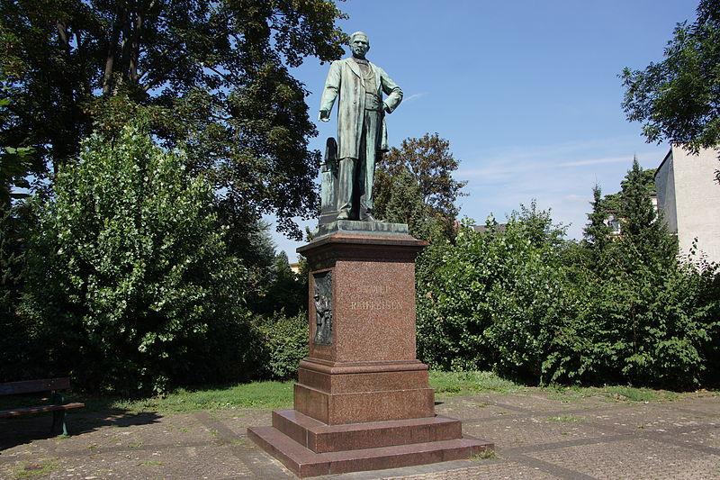 Bild Raiffeisendenkmal Neuwied