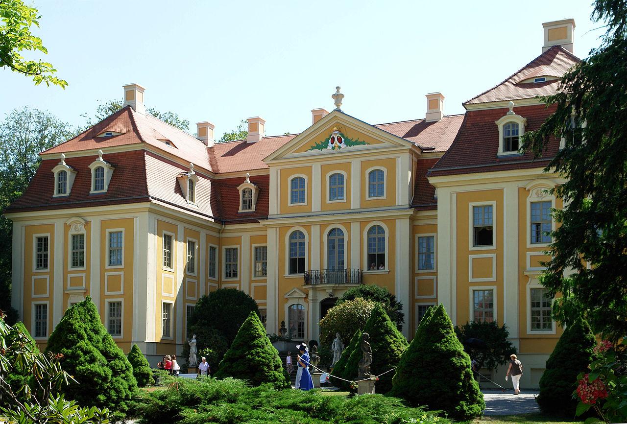Bild Barockschloss Rammenau