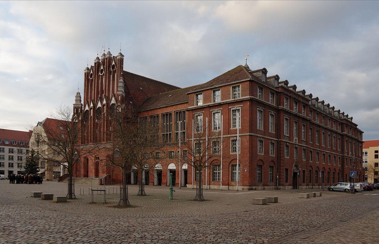 Bild Rathaus Frankfurt/Oder