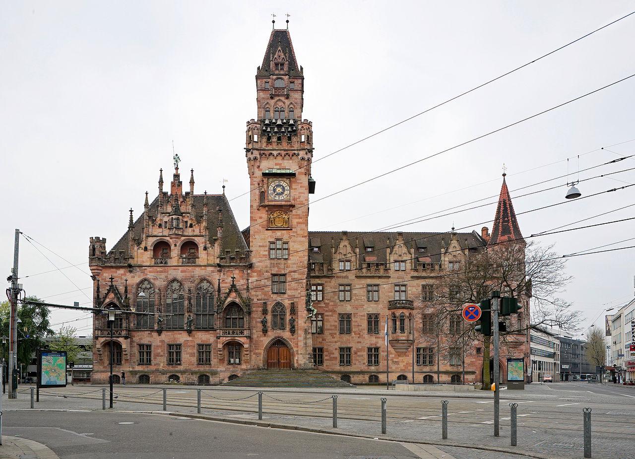 Bild Rathaus St. Johann Saarbrücken