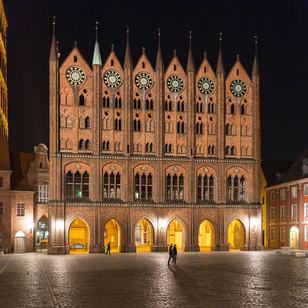 Bild Rathaus Stralsund