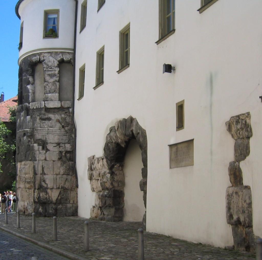 Bild Porta praetoria Regensburg
