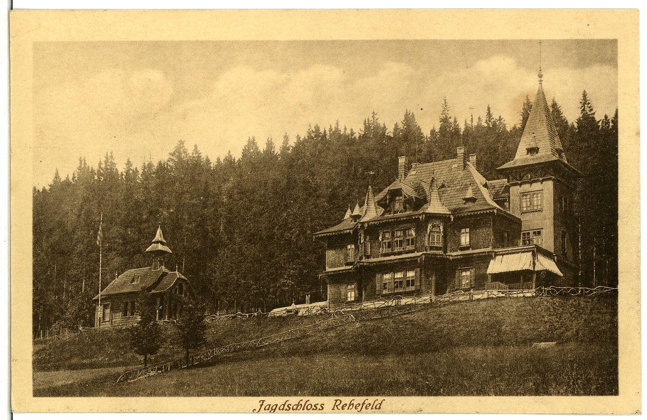 Bild Jagdschloss Rehefeld