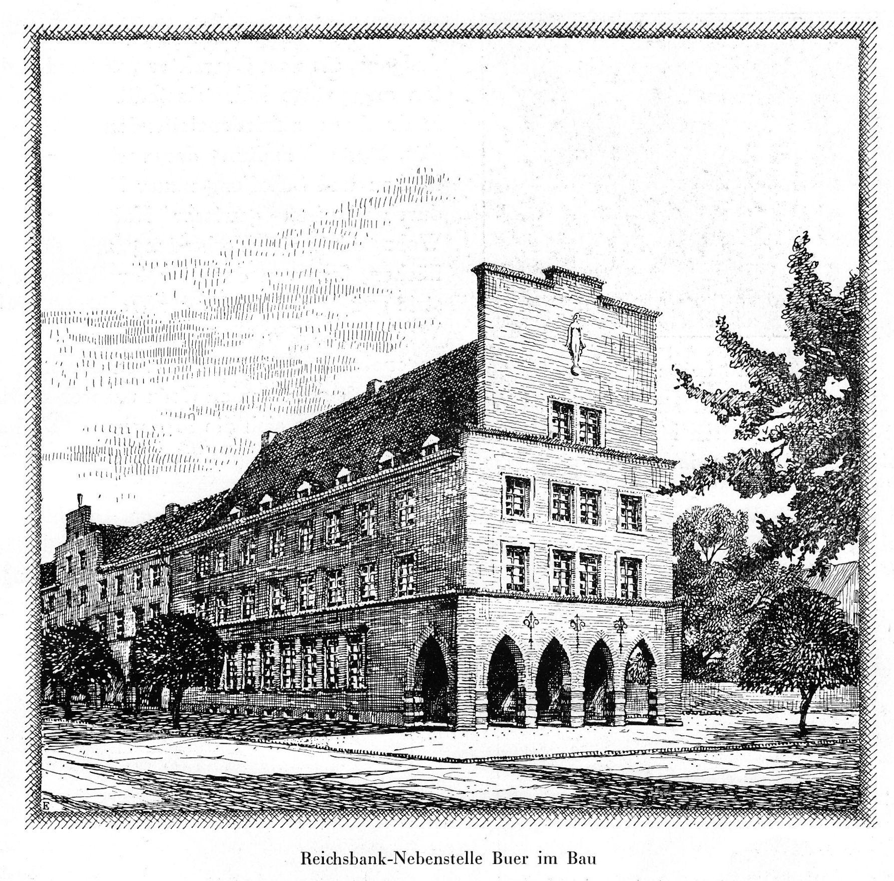 Bild Reichsbank Gelsenkirchen Buer