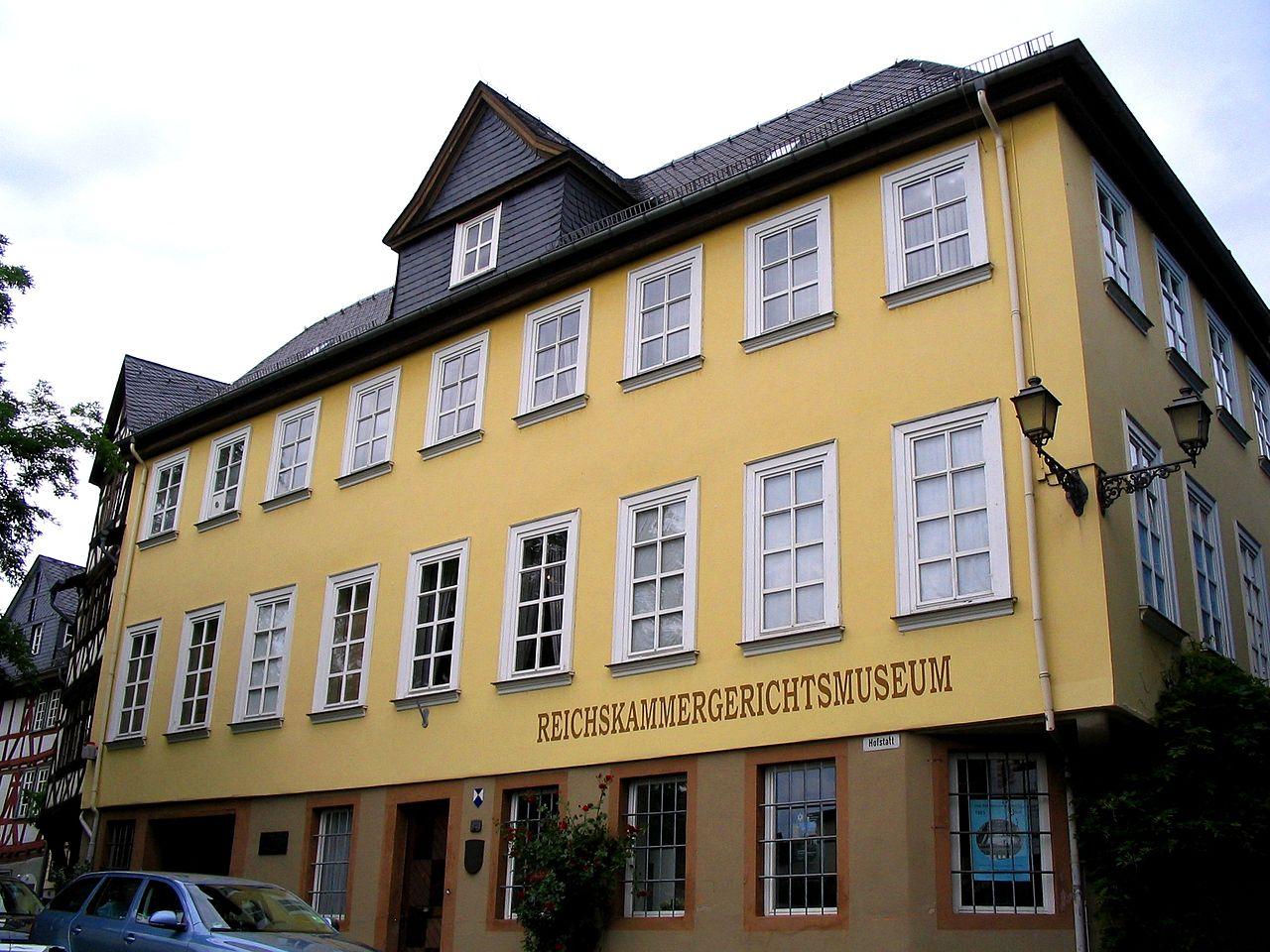 Bild Reichskammergerichtsmuseum Wetzlar