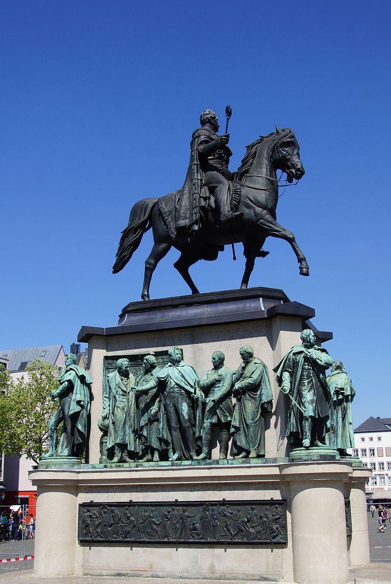 Bild Reiterstandbild Friedrich Wilhelm III. Köln