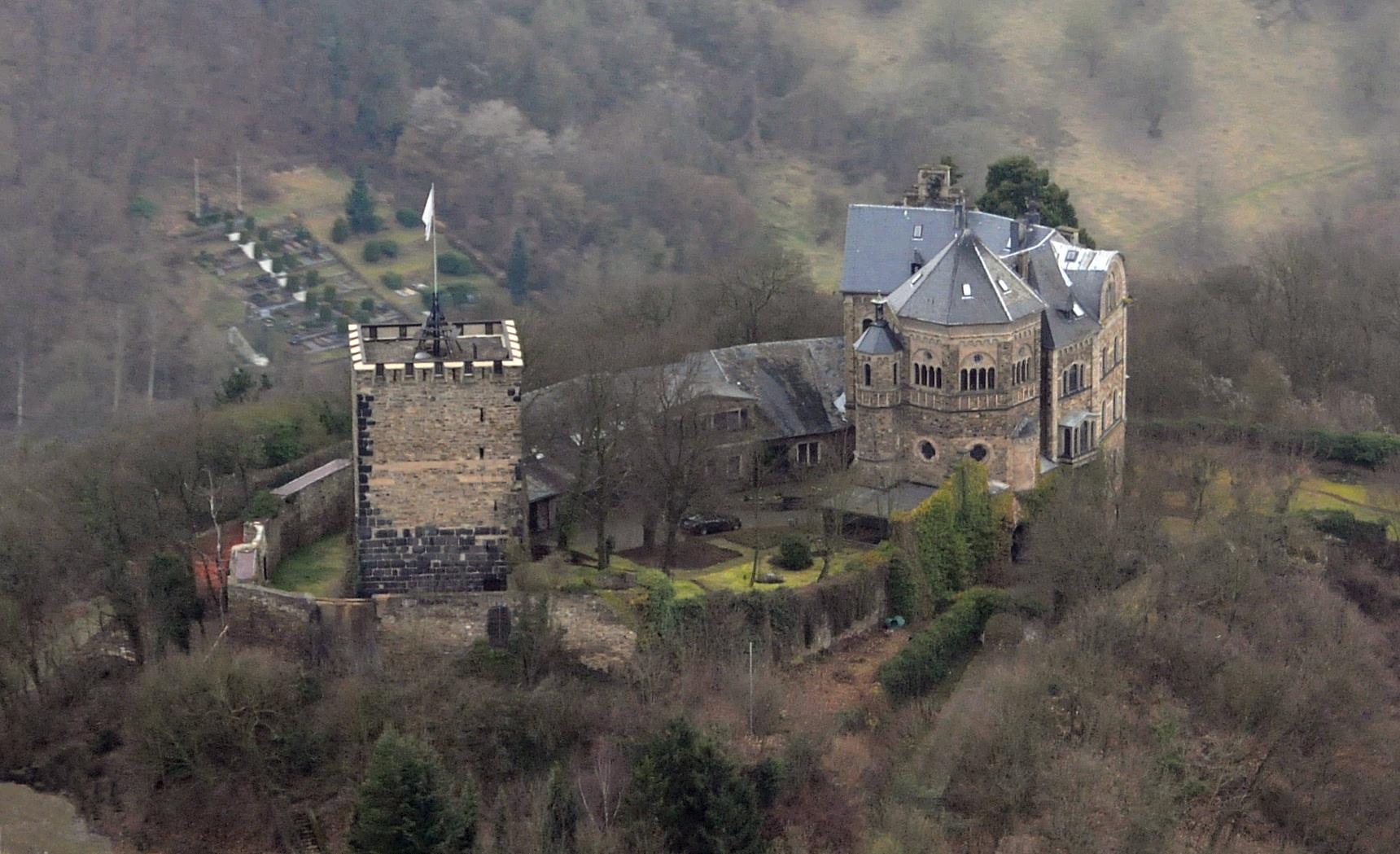 Bild Burg Rheineck bei Bad Breisig
