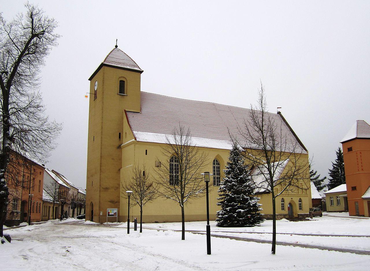 Bild St. Laurentius Kirche Rheinsberg