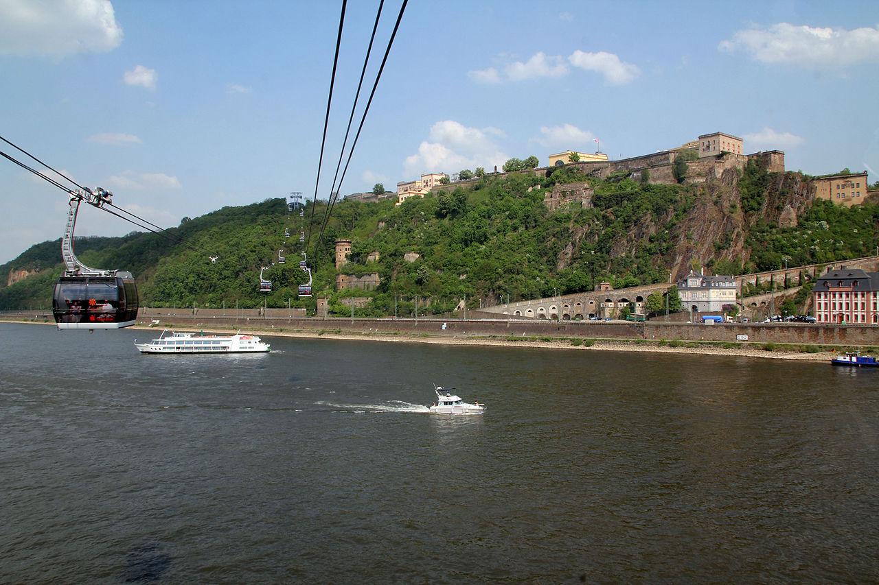Bild Rheinseilbahn Koblenz
